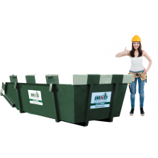 6 m³ afzetcontainer groenafval
