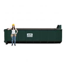 20 m³ afzetcontainer dakafval