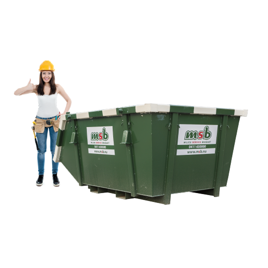 4 m³ afzetcontainer puin