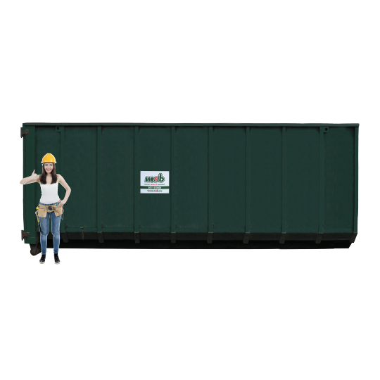 40 m³ afzetcontainer bedrijfsafval/ restafval