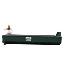 12 m³ afzetcontainer folie