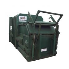 10 m³ pers afzetcontainer bedrijfsafval/ restafval