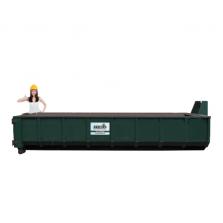 15 m³ afzetcontainer folie