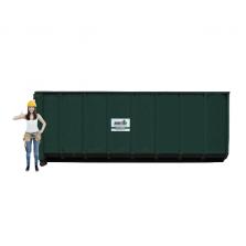 30 m³ open afzetcontainer folie