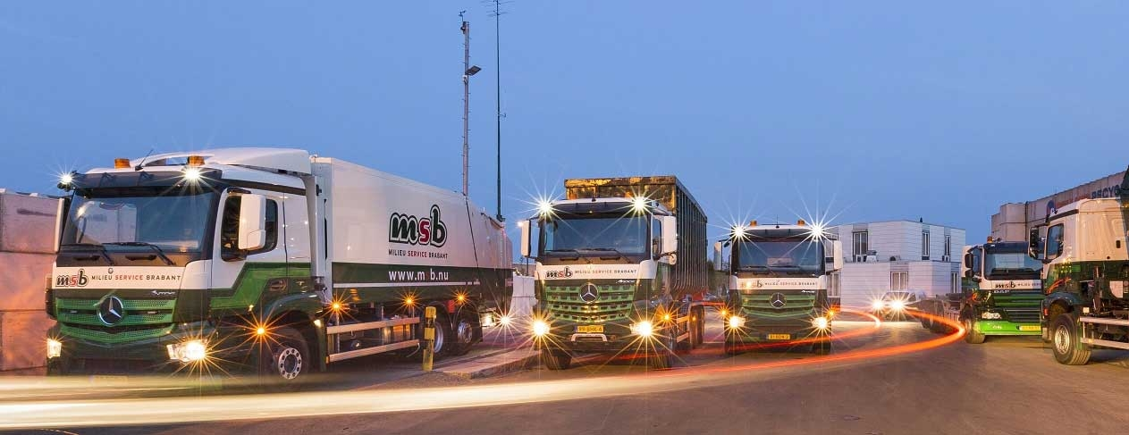 MSB vrachtwagens