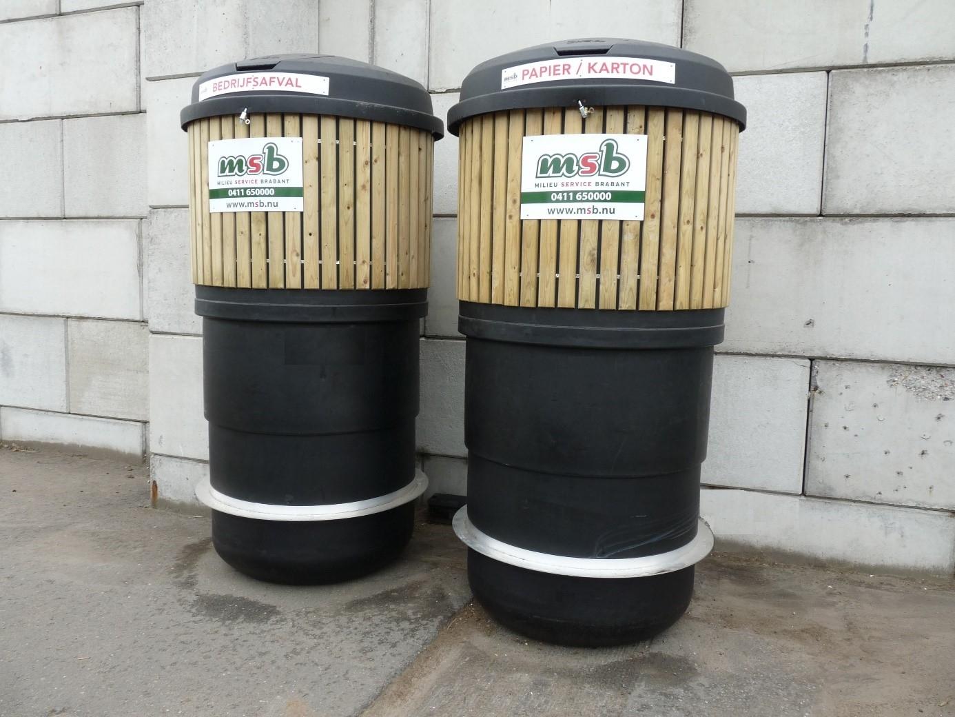 Semi-ondergrondse containers