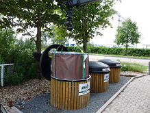 Ondergrondse afvalcontainer MSB