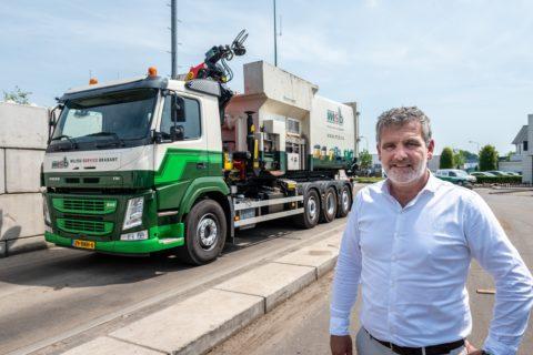 Nieuwe vrachtwagen voor MSB!