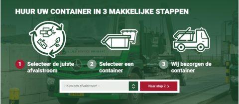 Eenvoudig afzetcontainers bestellen in onze webshop!
